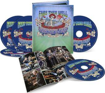 Grateful Dead - Fare Thee Well, Celebrating 50 Years of the Grateful Dead (2015) {3CD+2BLU-RAY, Rhino}