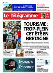 Le Télégramme Brest Abers Iroise – 13 septembre 2020