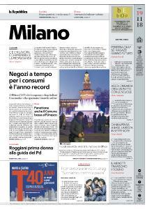 la Repubblica Milano - 19 Novembre 2018