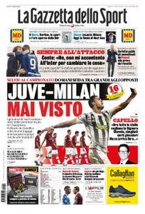 La Gazzetta dello Sport – 09 novembre 2019