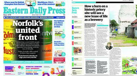 Eastern Daily Press – October 09, 2017