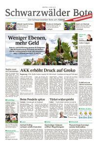 Schwarzwälder Bote Hechingen - 13. Mai 2019