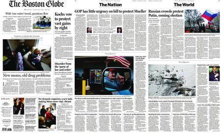 The Boston Globe – January 29, 2018