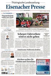 Thüringische Landeszeitung Eisenacher Presse - 03. April 2018