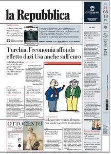 la Repubblica - 11 Agosto 2018