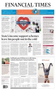 Financial Times UK - June 15, 2020