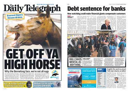 The Daily Telegraph (Sydney) – October 09, 2018