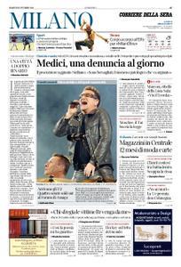 Corriere della Sera Milano – 09 ottobre 2018