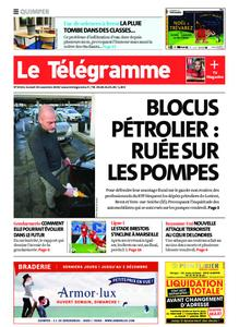 Le Télégramme Quimper – 30 novembre 2019