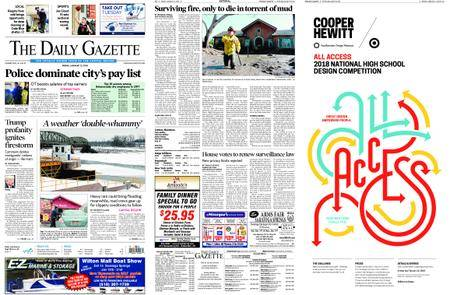 The Daily Gazette – January 12, 2018