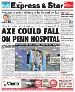 Express and Star Staffordshire Edition - February 8, 2017