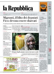 la Repubblica - 28 Gennaio 2019