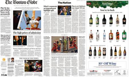 The Boston Globe – March 13, 2019
