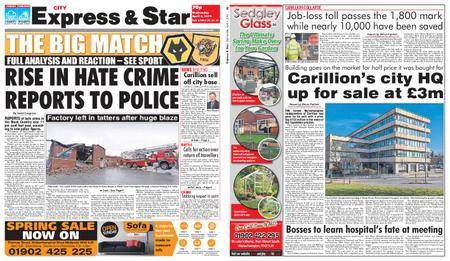 Express and Star City Edition – April 04, 2018