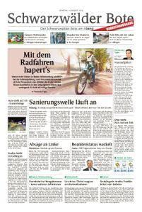 Schwarzwälder Bote Blumberg - 14. August 2018