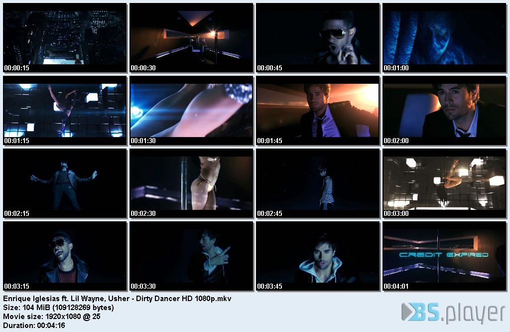 Enrique Iglesias feat. Usher & Lil Wayne - Dirty Dancer (2011)