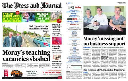 The Press and Journal Moray – August 14, 2018