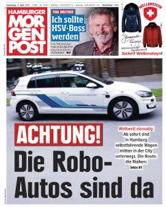 Hamburger Morgenpost - 4 April 2019