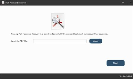 Amazing PDF Password Recovery 1.8.8.8 Portable