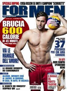 For Men Magazine - Aprile 2016