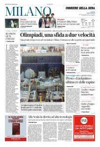 Corriere della Sera Milano - 15 Marzo 2018