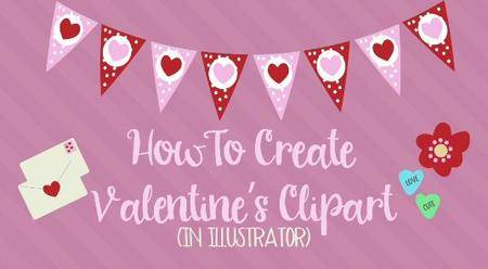 How To Create Valentine's Clipart in Illustrator