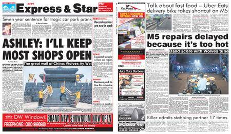 Express and Star City Edition – August 15, 2018