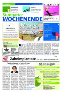 Stuttgarter Wochenende - City-Ausgabe - 14. September 2019