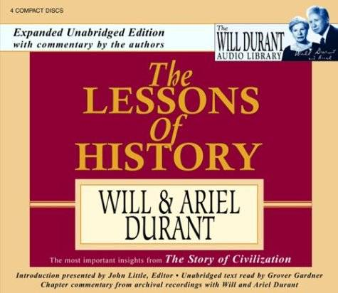 The Lessons of History [Audiobook]