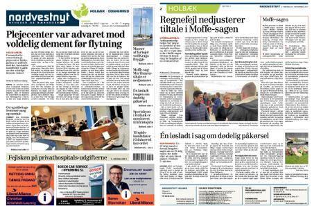 Nordvestnyt Holbæk Odsherred – 01. november 2017