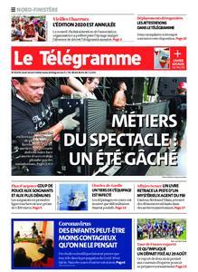 Le Télégramme Brest – 16 avril 2020