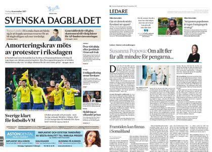 Svenska Dagbladet – 14 november 2017