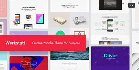 ThemeForest - Werkstatt v1.8.1 - Creative Portfolio Theme - 17870799