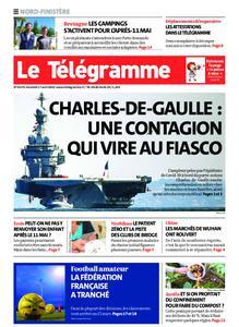 Le Télégramme Landerneau - Lesneven – 17 avril 2020