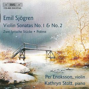 Per Enoksson, Kathryn Stott - Emil Sjögren: Violin Sonatas (2000)