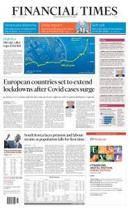 Financial Times Europe - January 4, 2021