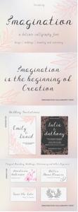 Imagination Calligraphy Font