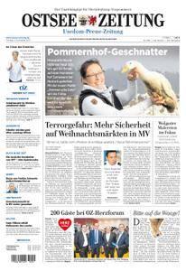 Ostsee Zeitung Wolgast - 03. November 2017