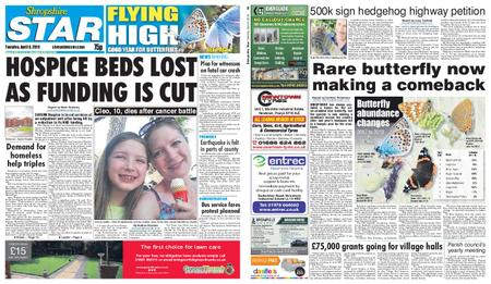 Shropshire Star Shrewsbury Edition – April 09, 2019