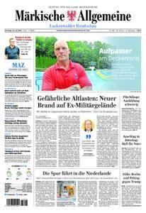 Märkische Allgemeine Luckenwalder Rundschau - 10. Juli 2018
