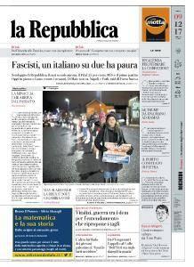 la Repubblica - 9 Dicembre 2017