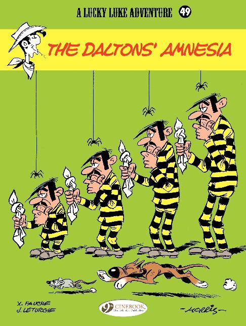 Cinebook - Lucky Luke Vol 49 The Daltons Amnesia 2014 Hybrid Comic eBook