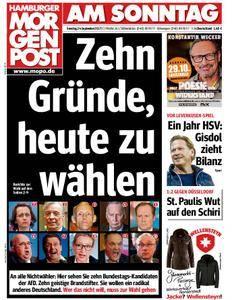Hamburger Morgenpost - 24. September 2017