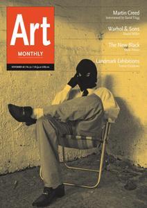 Art Monthly - November 2008   No 321
