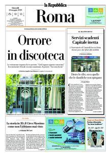 la Repubblica Roma – 23 maggio 2019