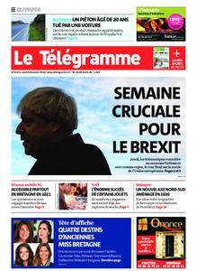 Le Télégramme Quimper – 09 décembre 2019