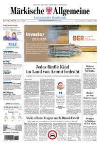 Märkische Allgemeine Luckenwalder Rundschau - 01. März 2018