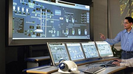 SCADA System Interface with PLC