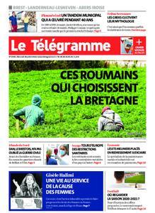 Le Télégramme Brest Abers Iroise – 29 juillet 2020
