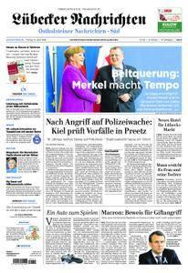 Lübecker Nachrichten Ostholstein Süd - 13. April 2018